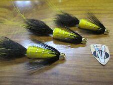 3 V Fly 1 1/4 Inch Arroy Spring Francis Conehead Salmon Tube Flies & Trebles