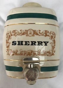 Vintage Royal Victoria Wade Sherry Barrel
