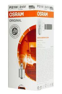 10 x Osram 7511 24V  P21W BA15s  Side Light/Indicator/reverse/Rear Fog