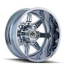 """Mayhem Monstir 22"""" Dually wheels Chevy Dodge Ram 3500 Ford F350 F450"""