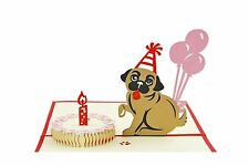 IShareCards Handmade 3D Pop Up Children's Birthday Cards (Dog a... Free Shipping