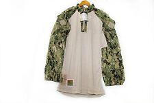 NWT NWU Type III Navy Seal AOR2 Digital Woodland FROG COMBAT FR shirt L/R