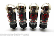 JJ 6L6GC 6L6 MATCHED QUAD VACUUM TUBES AMP TESTED