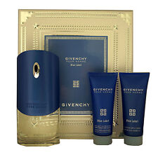 GIVENCHY BLUE LABEL POUR HOMME 3PIECE GIFT SET EAU DE TOILETTE 100ML NIB-P130177