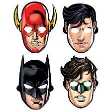 8 Justice League DC Comics Birthday Party Loot Treat Favor Paper Masks