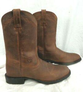 "Ariat Women's Boot~Heritage Roper~10000797~ 9"" Distressed .Brown $149.95"