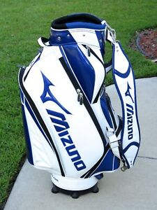 MIZUNO TOUR STAFF GOLF BAG (BLUE and WHITE) Used only 5 rounds