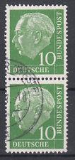 BRD 1954 Mi. Nr. 183 senkrechtes Paar gestempelt (18311)