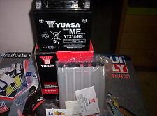 BATTERIA YUASA YTX14-BS ORIGINALE KAWASAKI 800 VN VULCAN CLASSIC 95-03
