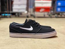 Nike Zoom SB Stefan Janoski Mens Skateboarding Shoe Black White 615957-028 Sz 12