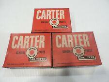 Vintage Carter Carburetor Improvement Kit 1550998 - 1960 Studebaker 6 cylinder