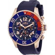 Invicta Men's Watch Pro Diver Chronograph Blue Dial Rubber Strap 30986