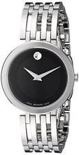 Movado Damen-armbanduhr 28mm Armband Edelstahl Schweizer Quarz 0607051