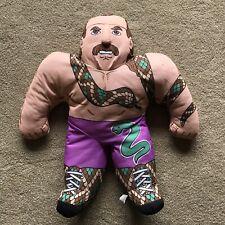 Jake The Snake Roberts WWF Wrestling Buddy Plush Rare Vintage Toy