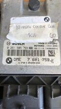 2009 Mini Cooper ecm ecu computer 0 261 S05 793