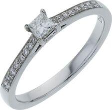 Engagement Band White Gold I2 Fine Diamond Rings