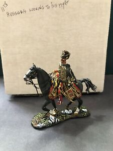 GNM Miniatures: A Boxed, Extremely Fine French Hussar Officer. 54mm