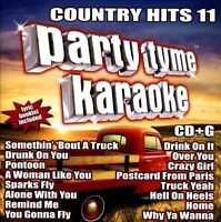 Party Tyme Karaoke: Country Hits 11 CD