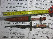 Vintage OMOR JAPAN DRAGON KNIFE  & LEATHER CASE  MADE IN JAPAN