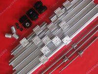 3 Lead Screws ballscrews RM1605-865//962//621mm+3 BK//BF12+3 Couplings