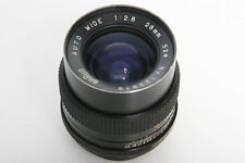 Braun 28mm f2.8 Wide Angle Lens M42 Screw Mount