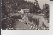 Real Photo Postcard Fish Hatchery Bonneville OR Ore