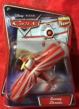 2007 Disney PixarCars ~ Barney Stormin NEWDiecast Airplane First ReleaseRARE!