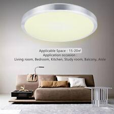 24W Bright LED Ceiling Light Flush Mount Fitting Home Bathroom Lamp Warm White