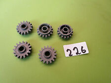 LEGO Technik: Zahnräder dunkelgrau aus 8466