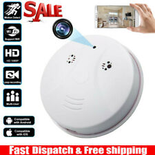 HD 1080P Smoking Detector Cam Security Surveillance Nanny Hidden WiFi Spy Camera