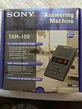 Sony TAM-100 Digital Answering Machine New in Original box