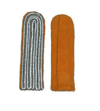 German WW2 Luftwaffe Leutenant-Captain ranks Shoulder Boards Orange underlay.