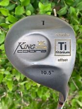 King Cobra 1 Driver Titanium 10.5° Graphite Regular Flex Right-Hand 46 Inches