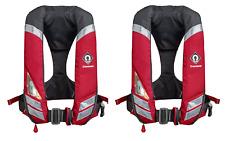 2 X Crewsaver Crewfit 150N HF Auto Harness Lifejacket - Heavy Duty Fabric