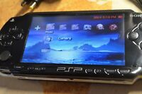 Sony PSP 1003 - Hostage film + software mod which includes data. New battery PSU