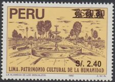 Peru 1190 1999 cultural heritage of humanity the Almeda the Barefoot m