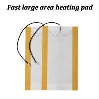 2X Car Heated Seat Covers Pad Carbon Fiber Heated Auto Winter Warmer Heater Mat