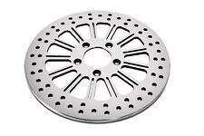 "DNA ""THIRTEEN"" REAR 11.8"" POLISHED BRAKE ROTOR HARLEY"
