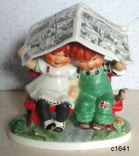 Goebel Charlot Byj Redhead Let It Rain Porcelain Figurine Byj51