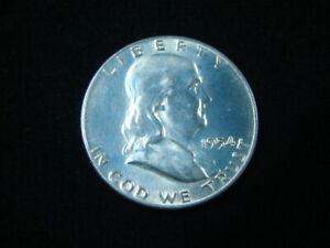 1954-D Franklin Silver Half Dollar Brilliant Uncirculated 80405