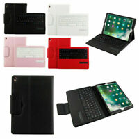 Pro 12.9 inch Bluetooth US Keyboard Leather Smart Case & Stand Fits IOS iPad