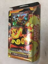 French Pokemon Black & White Red Assault Theme Deck Card Game Ccg Tcg