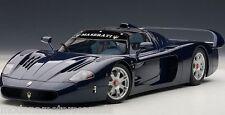 MASERATI MC12 ROAD CAR METALLIC BLUE 1:18 AUTOART 75802 BRAND NEW INBOX