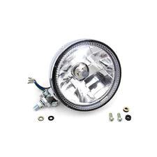 "V-Twin Chrome 5-3/4"" Synapse Halo LED Headlight Headlamp Harley Motorcycle"