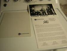Judas Priest Promo Press Kit 1997 Jugaltor Tim Ripper Owens Glen Tipton