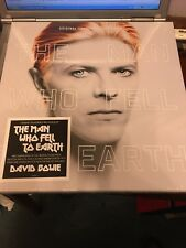 DAVID BOWIE man who fell to Earth soundtrack DELUXE BOX SET VINYL CD Poster Book