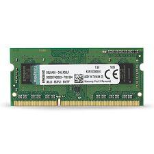 Kingston Value RAM 4GB 1333MHz PC3-10600 DDR3 Non-ECC CL9 SODIMM SR ... [NO VAT]