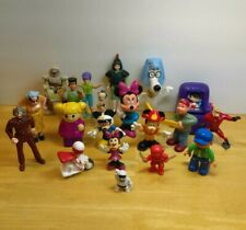 Lot of 20 Mixed Brands Figure Toys Junk Drawer Lot Disney Mickey Mouse etc.  t9
