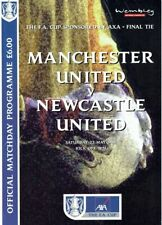 DVD Full Match FA Cup Final 1999 English Cup Manchester United Newcastle United