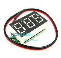 5PCS  0-32V RED COLOR three-wire 0.36` LED DC Digital Voltmeter Panel Meter